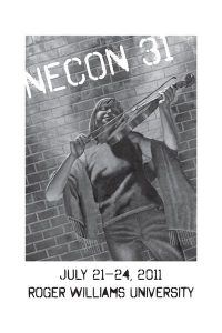 "The Official Web Site of Author Matt Bechtel, Titles: Necon 31 Program Book (featuring ""A Man Walks Into a Bar"")"